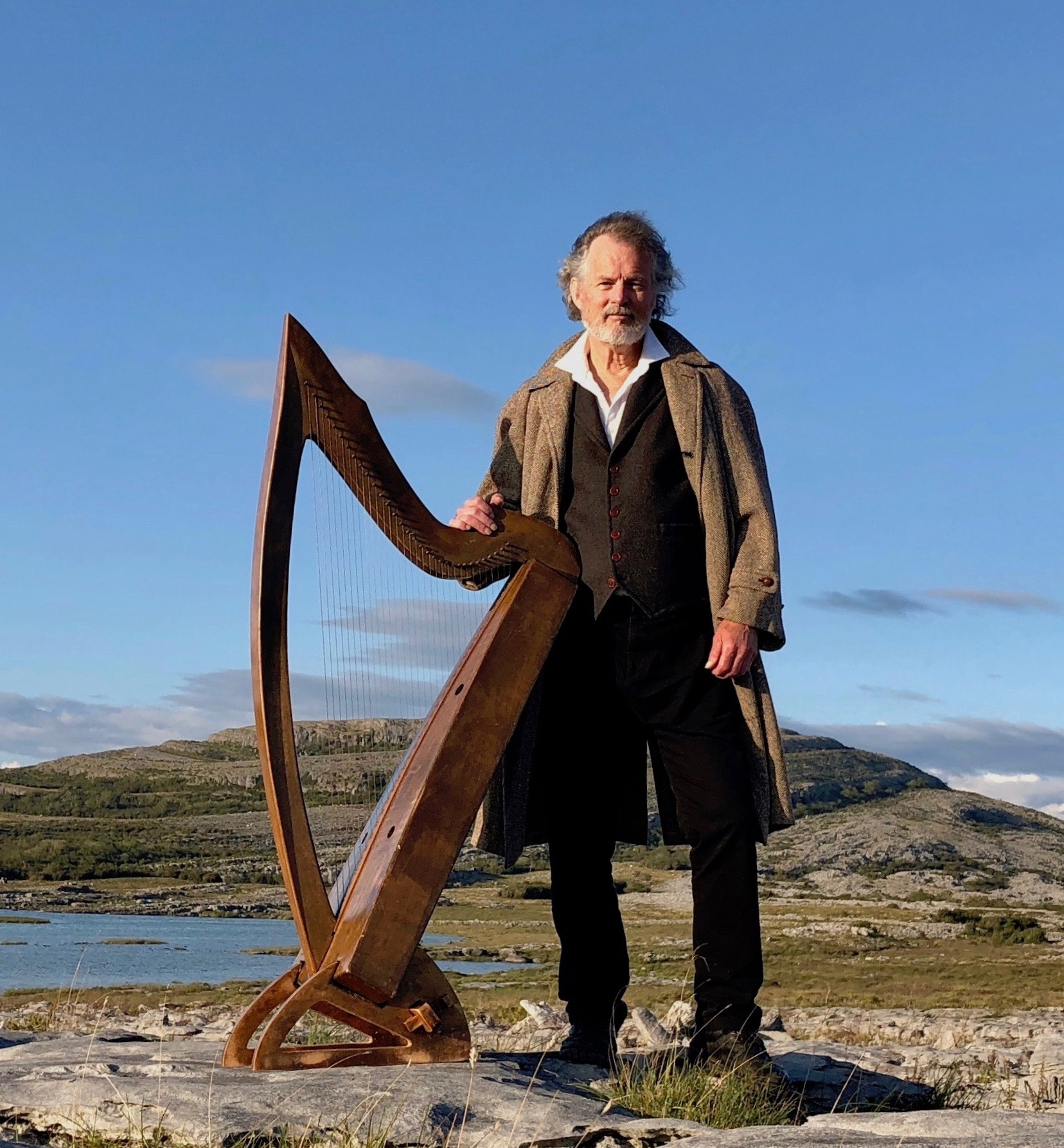 Partrick Ball - Celtic Harp & Story