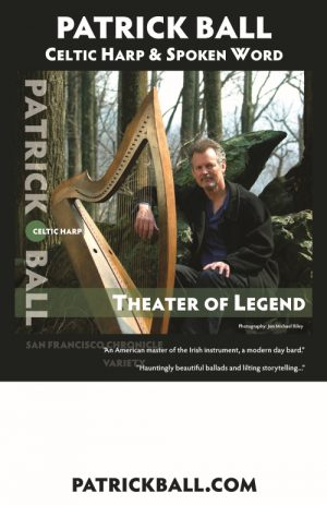 Patrick Ball - Celtic Harp & Spoken Word thumb