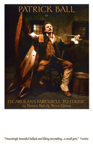 Patrick Ball - O'Carolan's Farewell to Music 11 x 17