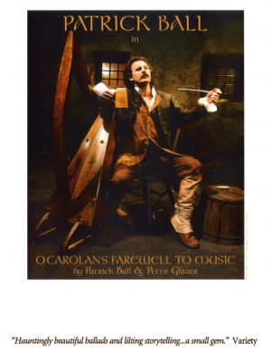 Patrick Ball - O'Carolan's Farewell to Music poster